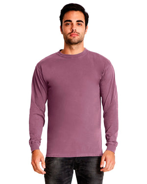 Next Level Adult Inspired Dye Long-Sleeve Crew - 7401