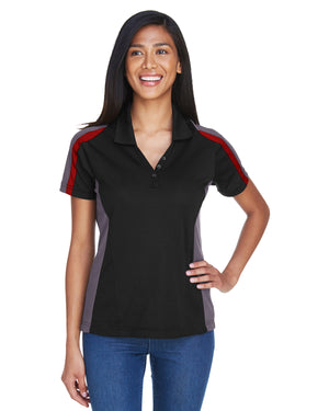 Extreme Ladies' Eperformance™ Strike Colorblock Snag Protection Polo - 75119