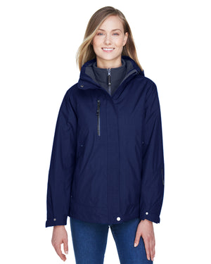 North End Ladies' Caprice 3-in-1 Jacket with Soft Shell Liner - 78178