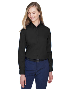 Core 365 Ladies' Operate Long-Sleeve Twill Shirt - 78193
