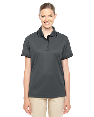 Core 365 Ladies' Motive Performance Piqué Polo with Tipped Collar - 78222