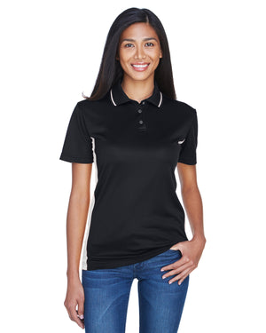 UltraClub Ladies' Cool & Dry Sport Two-Tone Polo - 8406L