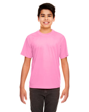 UltraClub Youth Cool & Dry Sport Performance Interlock T-Shirt - 8420Y