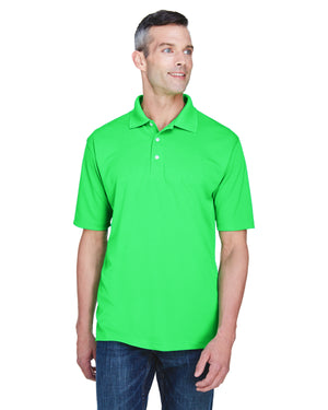 UltraClub Men's Cool & Dry Stain-Release Performance Polo - 8445