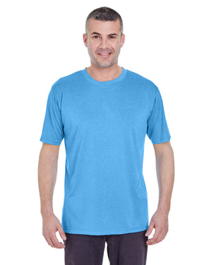 UltraClub Men's Cool & Dry Heathered Performance T-Shirt - 8619