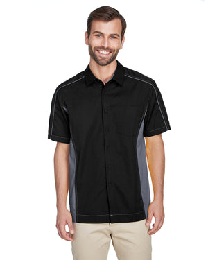 North End Men's Tall Fuse Colorblock Twill Shirt - 87042T