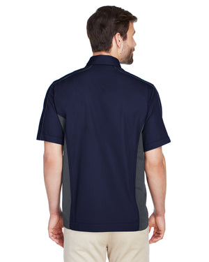 North End Men's Fuse Colorblock Twill Shirt - 87042
