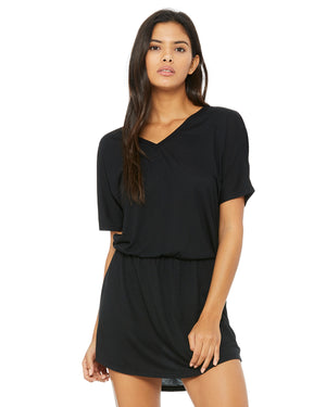 Bella + Canvas Ladies' Flowy V-Neck Dress - 8812