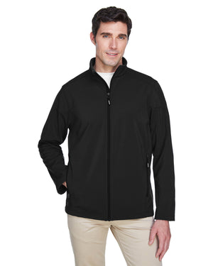 Core 365 Men's Tall Cruise Two-Layer Fleece Bonded Soft Shell Jacket - 88184T