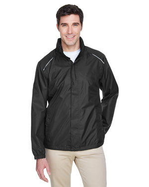 Core 365 Men's Climate Seam-Sealed Lightweight Variegated Ripstop Jacket - 88185