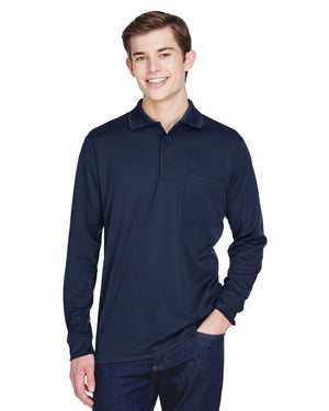 Core 365 Adult Pinnacle Performance Long-Sleeve Piqué Polo with Pocket - 88192P