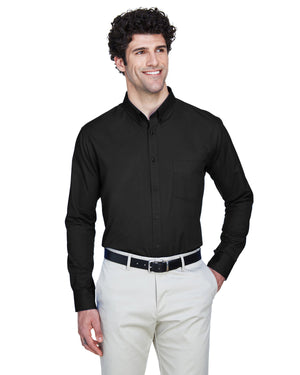 Core 365 Men's Operate Long-Sleeve Twill Shirt - 88193