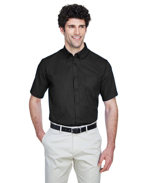 Core 365 Men's Optimum Short-Sleeve Twill Shirt - 88194