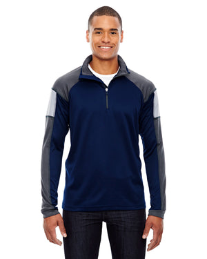 North End Men's Quick Performance Interlock Quarter-Zip - 88214