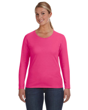 Anvil Ladies' Lightweight Long-Sleeve T-Shirt - 884L