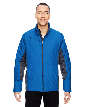 North End Men's Immerge Insulated Hybrid Jacket with Heat Reflect Technology - 88696
