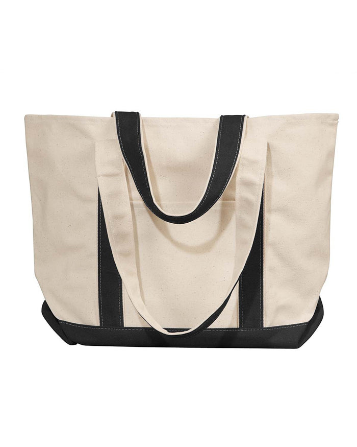 Liberty Bags Windward Large Cotton Canvas Classic Boat Tote - 8871
