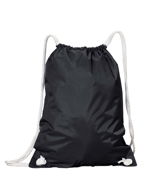 Liberty Bags White Drawstring Backpack - 8887