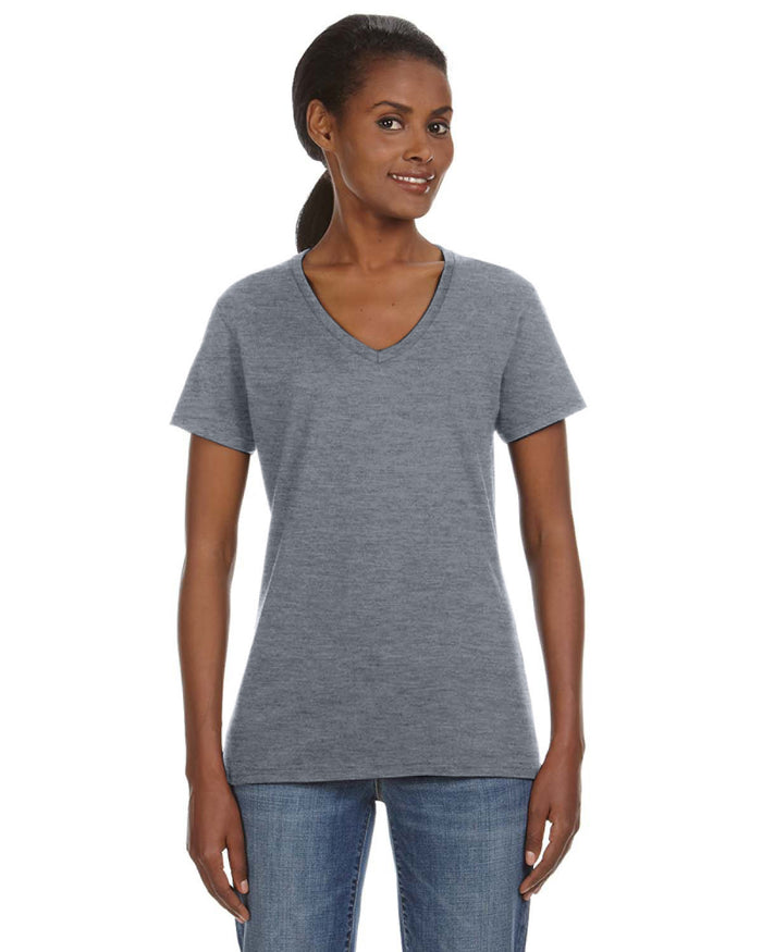 Anvil Ladies' Lightweight V-Neck T-Shirt - 88VL