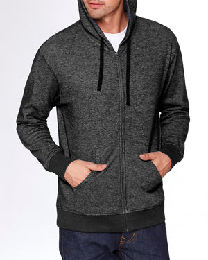 Next Level Adult Denim Fleece Full-Zip Hoody - 9600
