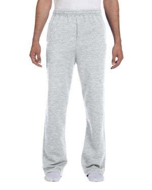 Jerzees Adult 8 oz. NuBlend® Open-Bottom Fleece Sweatpants - 974MP