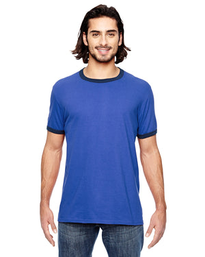 Anvil Adult Lightweight Ringer T-Shirt - 988AN