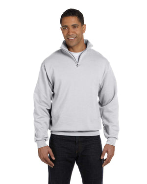 Jerzees Adult 8 oz. NuBlend® Quarter-Zip Cadet Collar Sweatshirt - 995M