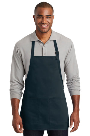 Port Authority  Medium-Length Two-Pocket Bib Apron. A601