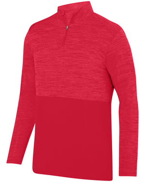 Augusta Sportswear Adult Shadow Tonal Heather Quarter-Zip Pullover - AG2908