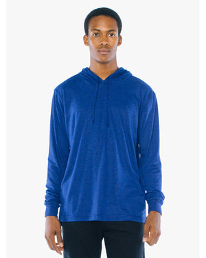 American Apparel Unisex Tri-Blend Long-Sleeve Hoodie - ATR436W