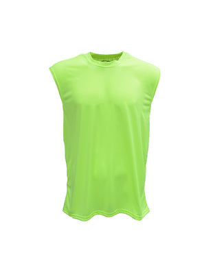 Bright Shield Adult Performance Sleeveless Shooter Tee - B199