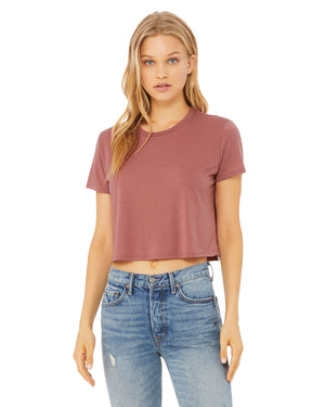 Bella + Canvas Ladies' Flowy Cropped T-Shirt - B8882
