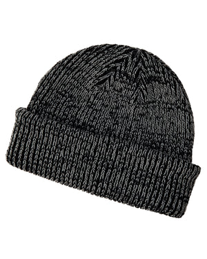 Big Accessories Ribbed Marled Beanie - BA524