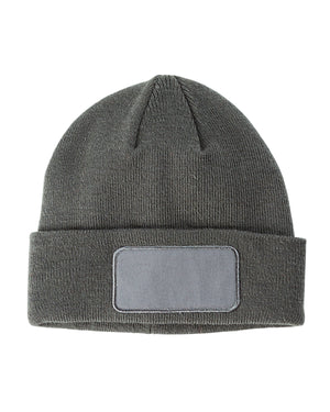 Big Accessories Patch Beanie - BA527