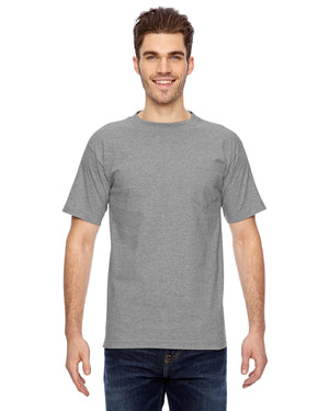 Bayside Adult 6.1 oz., 100% Cotton Pocket T-Shirt - BA7100