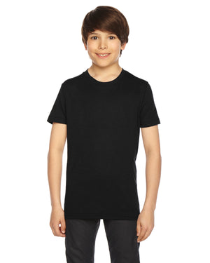 American Apparel Youth Poly-Cotton Short-Sleeve Crewneck - BB201W