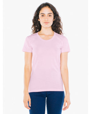 American Apparel Ladies' Poly-Cotton Short-Sleeve Crewneck - BB301W