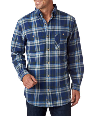Backpacker Men's Tall Yarn-Dyed Flannel Shirt - BP7001T