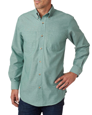 Backpacker Men's Yarn-Dyed Chambray Woven - BP7004