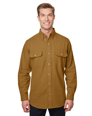 Backpacker Men's Tall Solid Chamois Shirt - BP7090T
