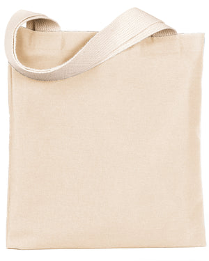 Bayside 7 oz., Poly/Cotton Promotional Tote - BS800
