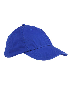 Big Accessories 6-Panel Washed Twill Low-Profile Cap - BX005