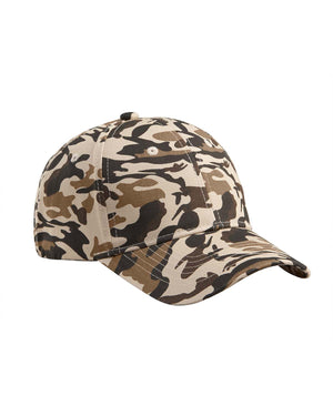 Big Accessories Structured Camo Hat - BX024
