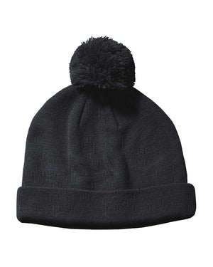 Big Accessories Knit Pom Beanie - BX028