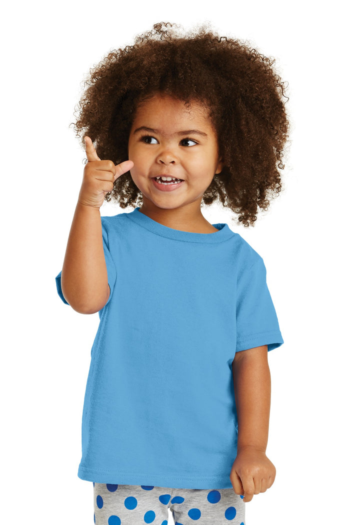 Port & Company Toddler Core Cotton Tee. CAR54T