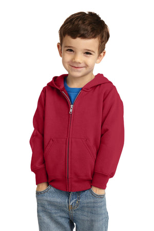 Port & Company Toddler Core Fleece Full-Zip Hooded Sweatshirt. CAR78TZH
