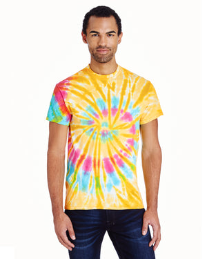 Tie-Dye Adult 5.4 oz., 100% Cotton T-Shirt - CD100