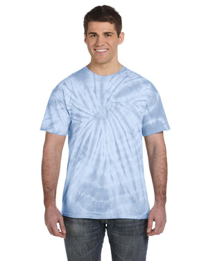 Tie-Dye Adult 5.4 oz. 100% Cotton Spider T-Shirt - CD101