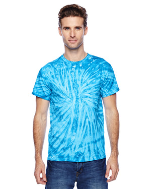 Tie-Dye Adult 5.4 oz., 100% Cotton Twist Tie-Dyed T-Shirt - CD110