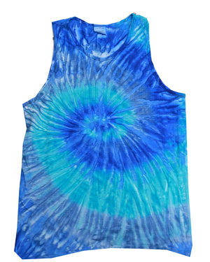 Tie-Dye Adult 5.4 oz. 100% Cotton Tank Top - CD3500